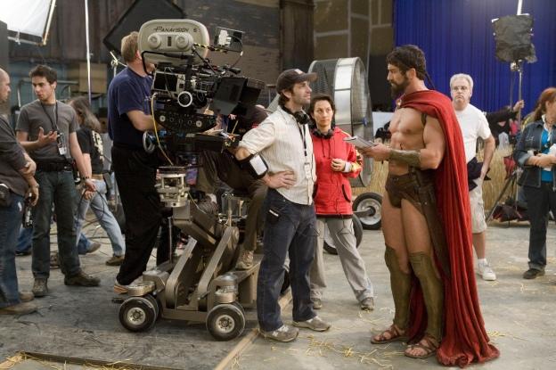 Zack Snyder Gerard Butler 300