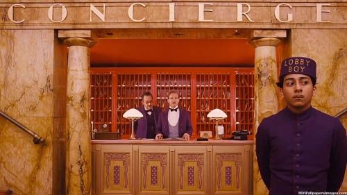 The Grand Budapest Hotel Ralph Fiennes Tony Revolori Scene 3
