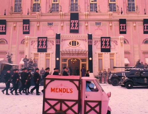 The Grand Budapest Hotel Cinematography 2