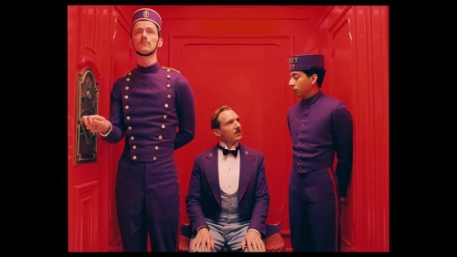 The Grand Budapest Hotel Ralph Fiennes Tony Revolori