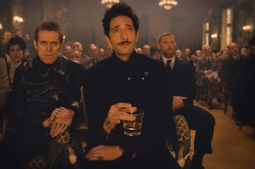The Grand Budapest Hotel Adrien Brody Willem Dafoe