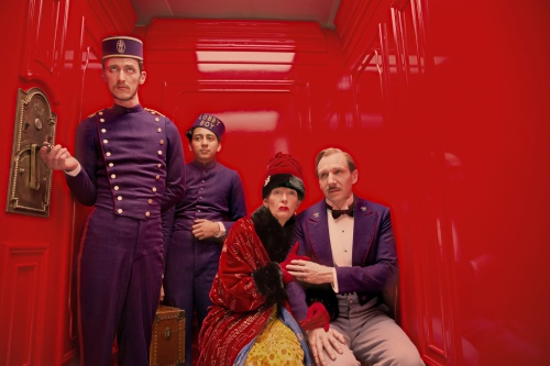 The Grand Budapest Hotel Ralph Fiennes Tilda Swinton Tony Revolori