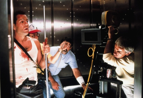 Bruce Willis Die Hard 1988 Movie Still