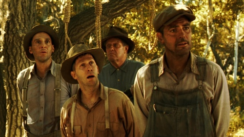 O Brother Where Art Thou George Clooney John Turturro Tim Blake Nelson Scene 1