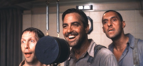 O Brother Where Art Thou George Clooney John Turturro Tim Blake Nelson Scene 2
