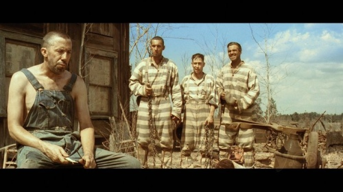 O Brother Where Art Thou George Clooney John Turturro Tim Blake Nelson Scene 5