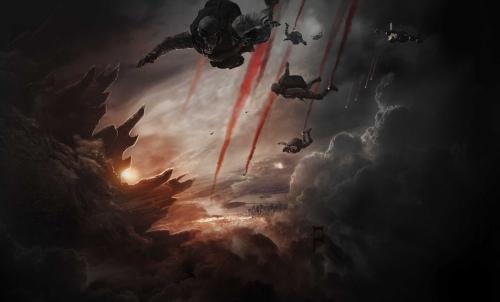 Godzilla 2014 cinematography