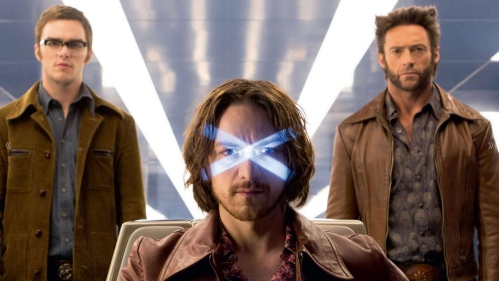 X-Men Days of Future James McAvoy Hugh Jackman Professor X Wolverine