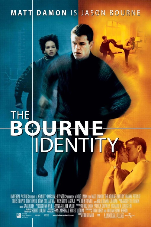 The Bourne Idenity Movie Poster