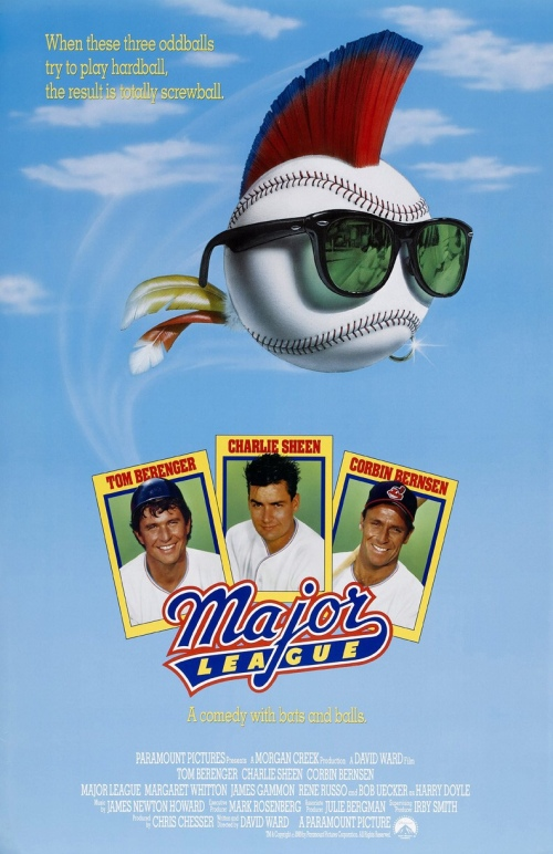 Major League 1989 Movie Poster